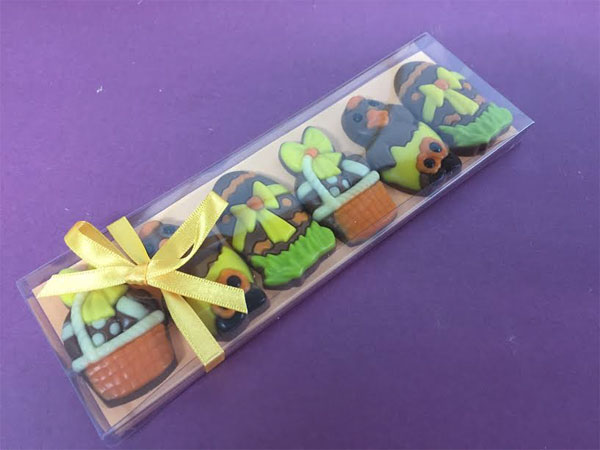 Easter gifts online uk retro sweets gift hamper with a twist just decorated easter gift set negle Image collections